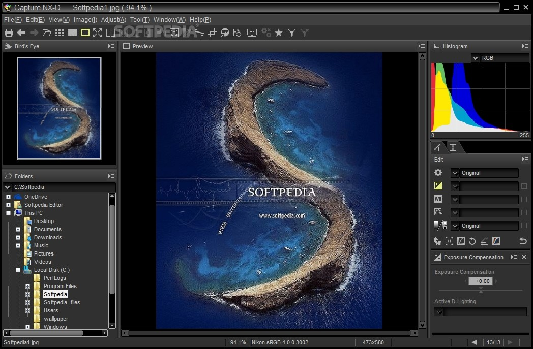 Download Capture NX-D 1 5 3