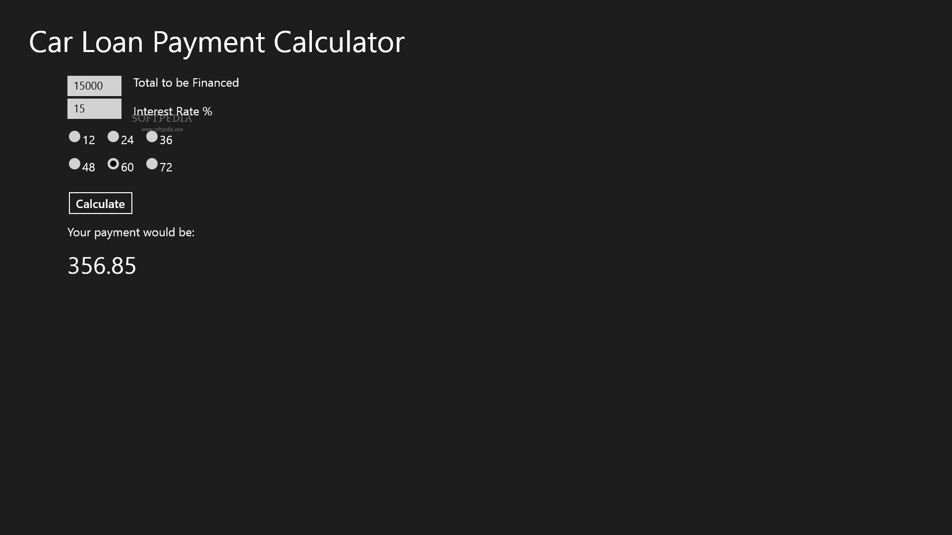 download car loan payment calculator 1 0 0 0