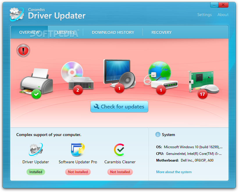 Download Carambis Driver Updater 2 4 3 1734