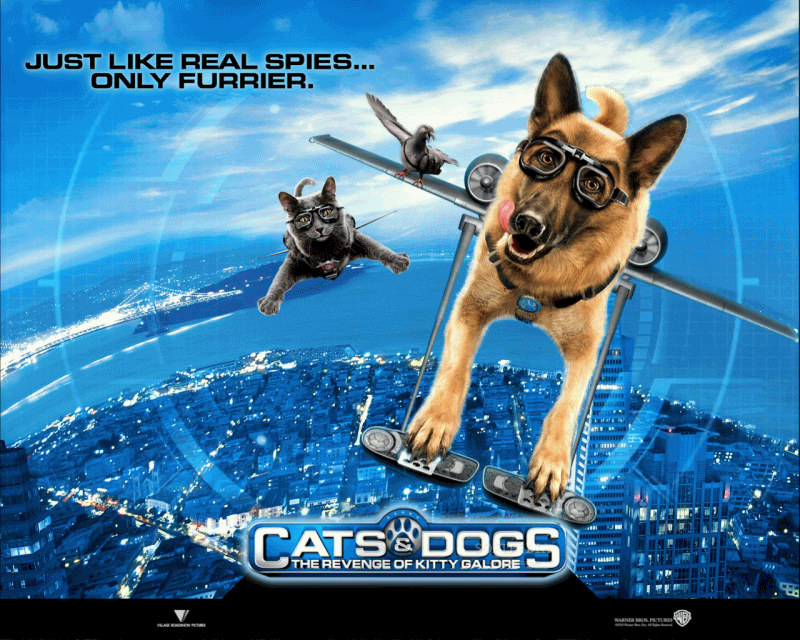 Cats amp Dogs Movie Poster 1 of 3  IMP Awards