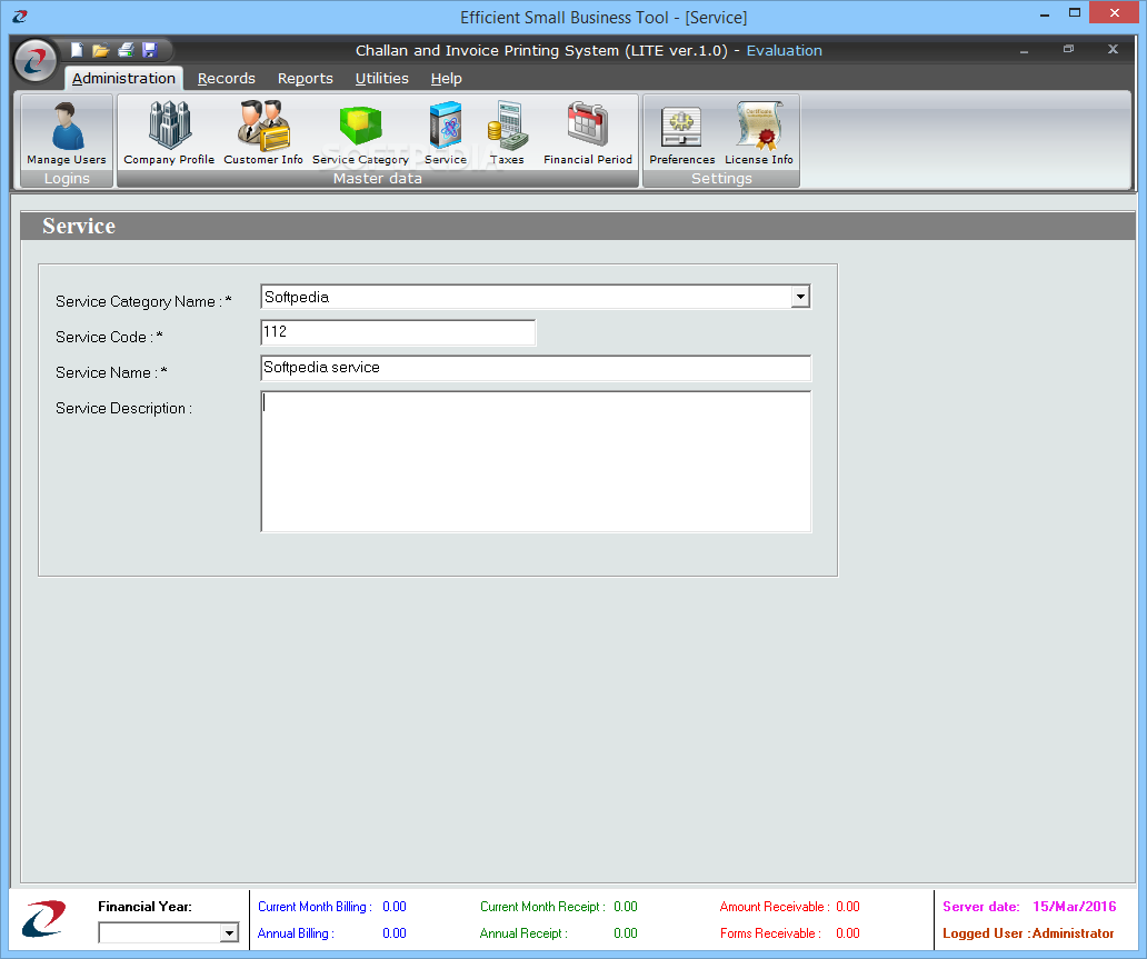download challan and invoice printing system lite 1 0