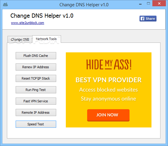 Download Change DNS Helper 1.0