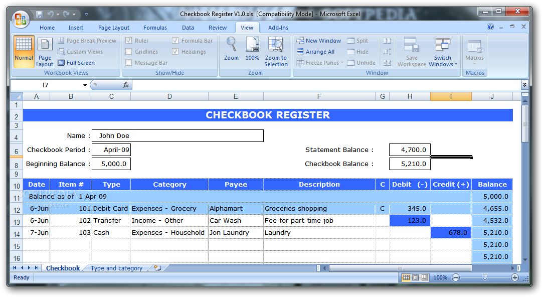 checkbook software windows 10 juve cenitdelacabrera co