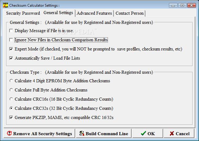 Download Checksum Calculator 5 0f