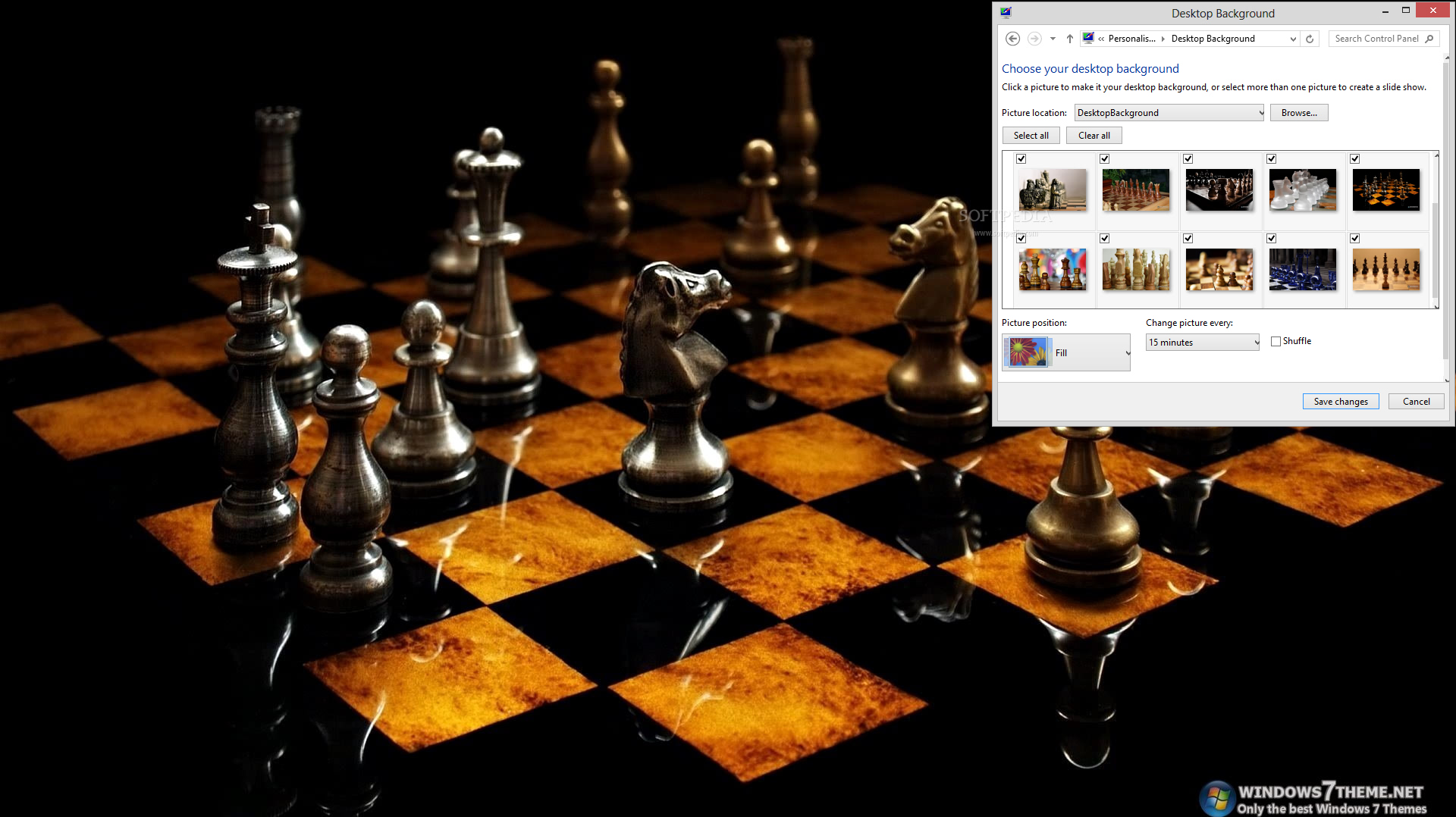 chess windows 7 theme 1