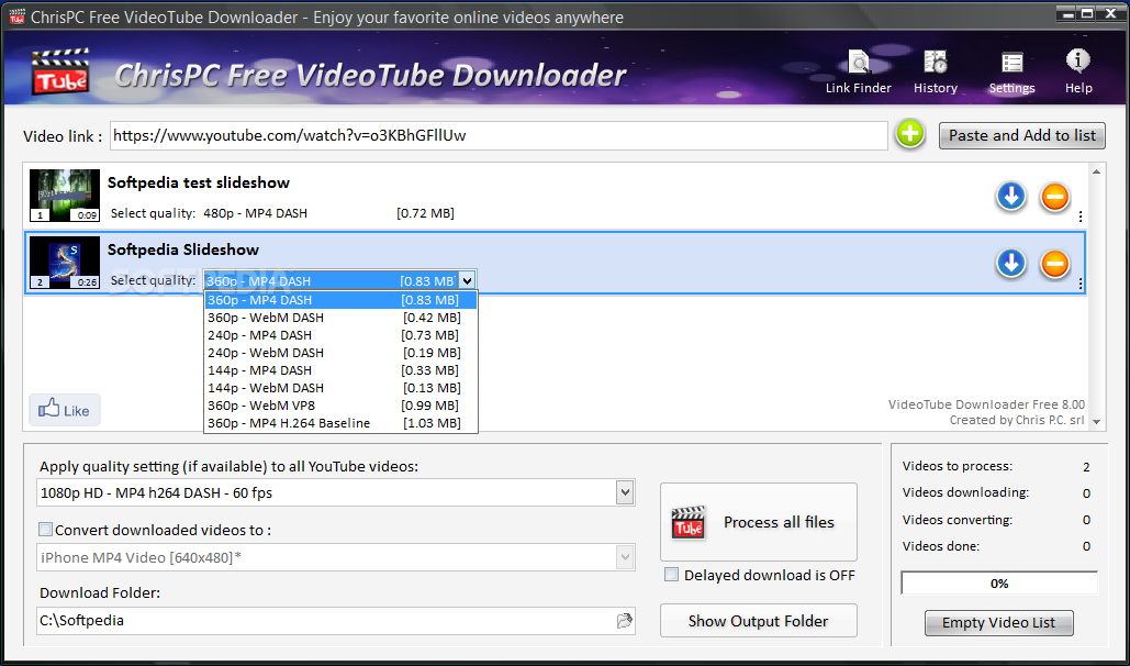 Download Chrispc Free Videotube Downloader 12 16 01