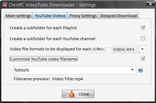 Download ChrisPC Free VideoTube Downloader 11 07 26