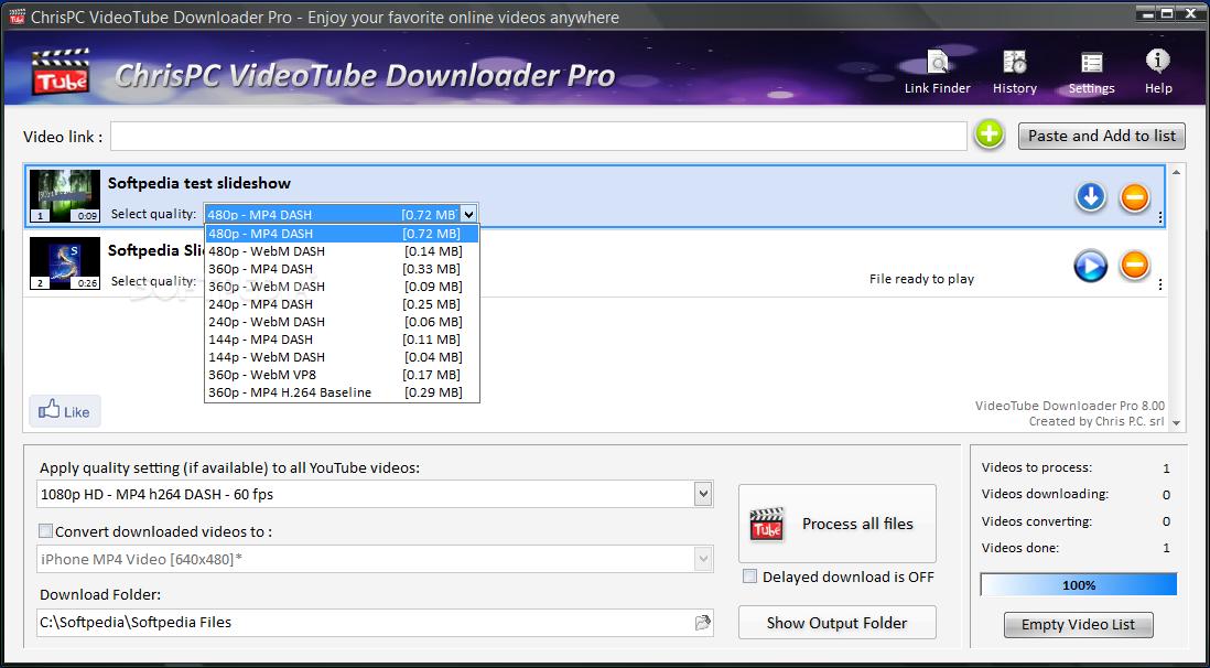downloader chip