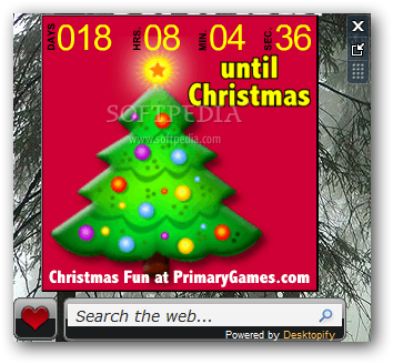 download christmas countdown nice clock 1440
