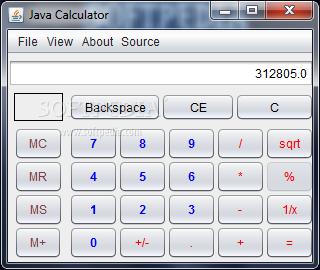 Download Java Calculator 3 0 1