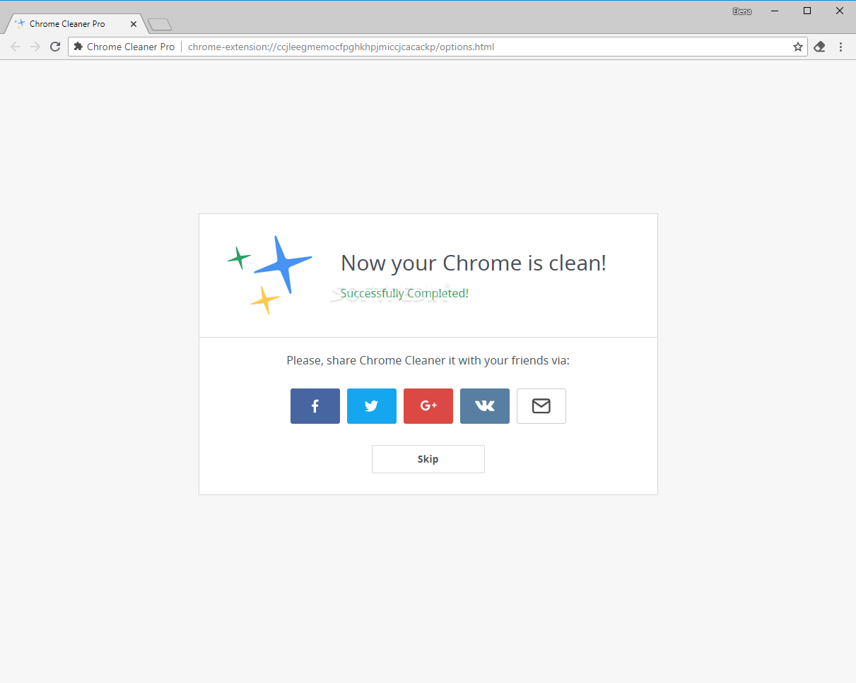Download Chrome Cleaner Pro 1 1 1