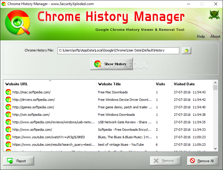 Download Chrome History Manager 3 0