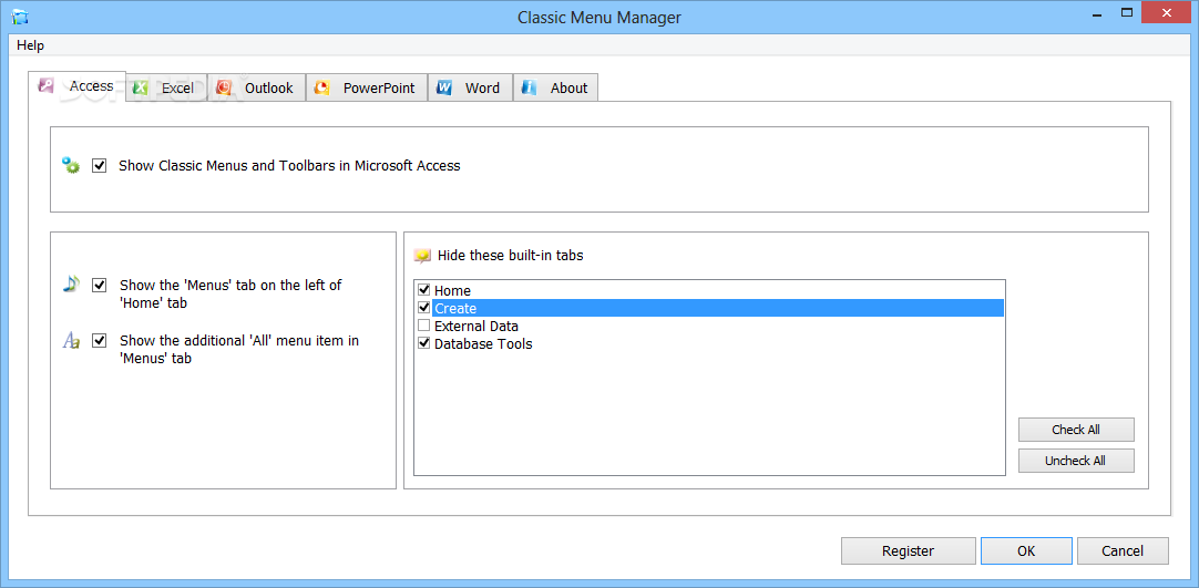 classic menu for office 2007 serial number