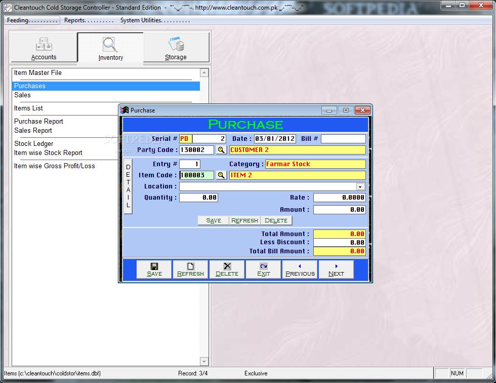 Cold storage management software free download