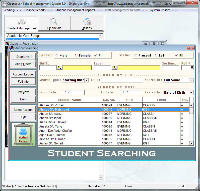 Free school management software in excel full version in php.