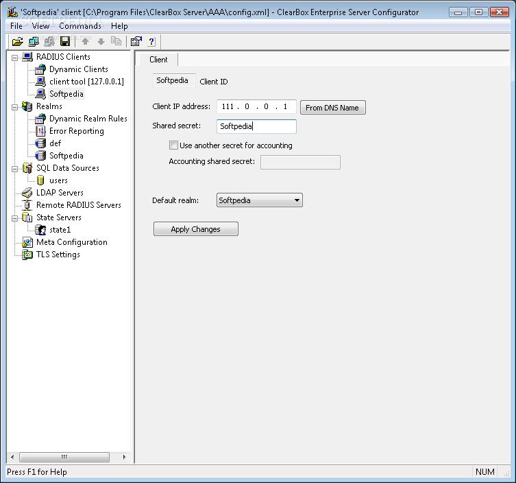 Download ClearBox Enterprise RADIUS Server 2 0