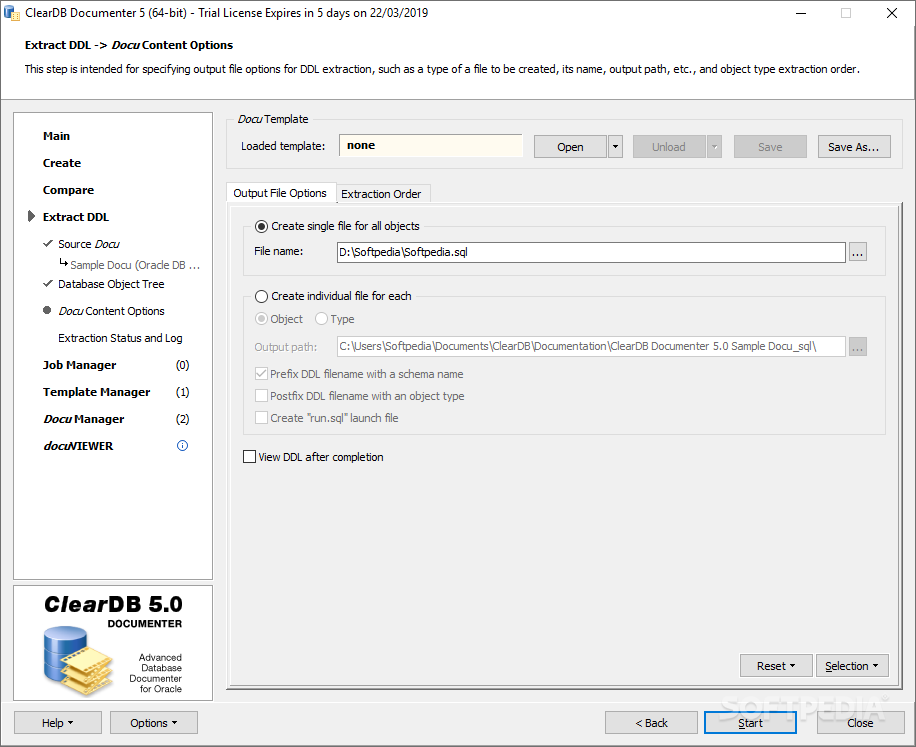 Download ClearDB Documenter 5 0 1 Build 467