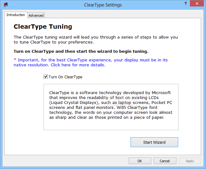 Download ClearType Tuner PowerToy 7.4.262.0