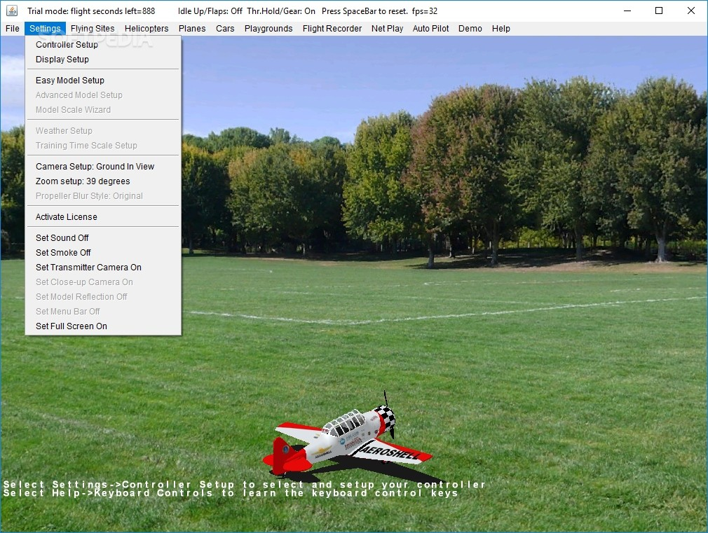 Download ClearView RC Flight Simulator 5 34