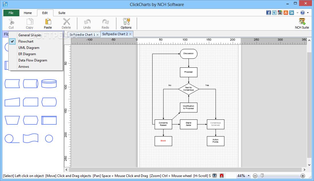 Download clickcharts free diagram and flowchart maker 313 beta ccuart Choice Image