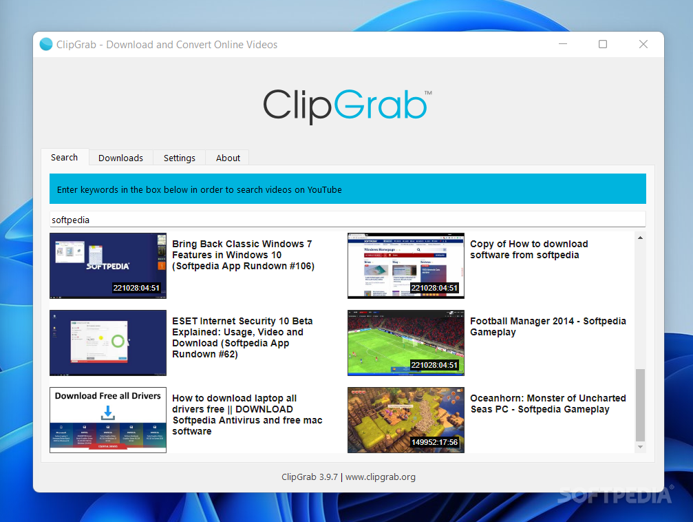 Download ClipGrab 3 8 4