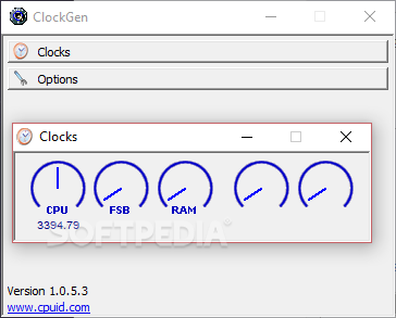 clockgen pour windows 7