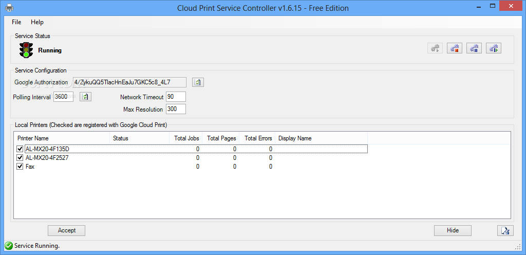 Download Cloud Print For Windows 249