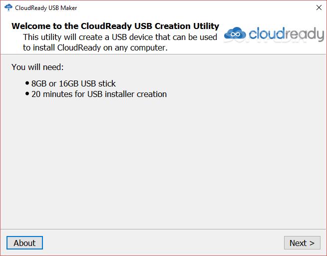 Download CloudReady USB Maker 2 1