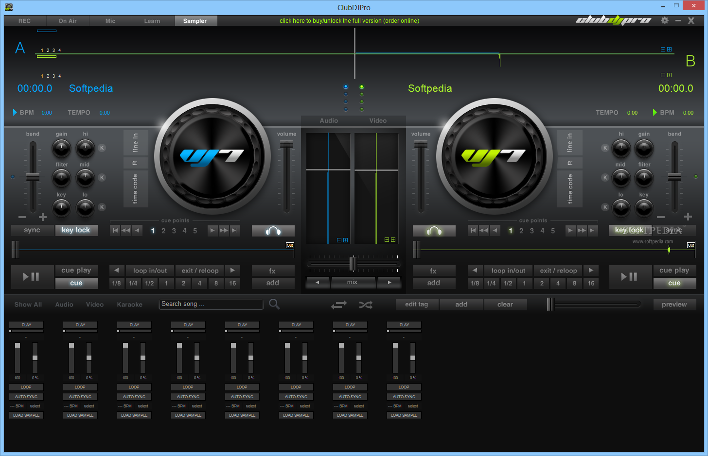 how to make a mix using virtual dj