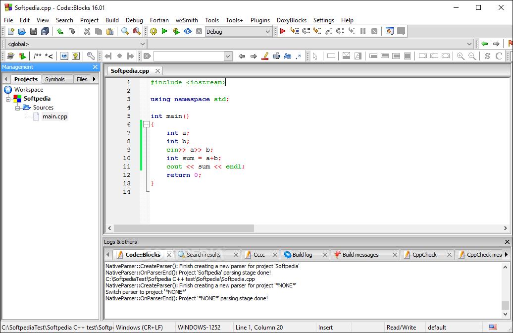 code block c compiler free download