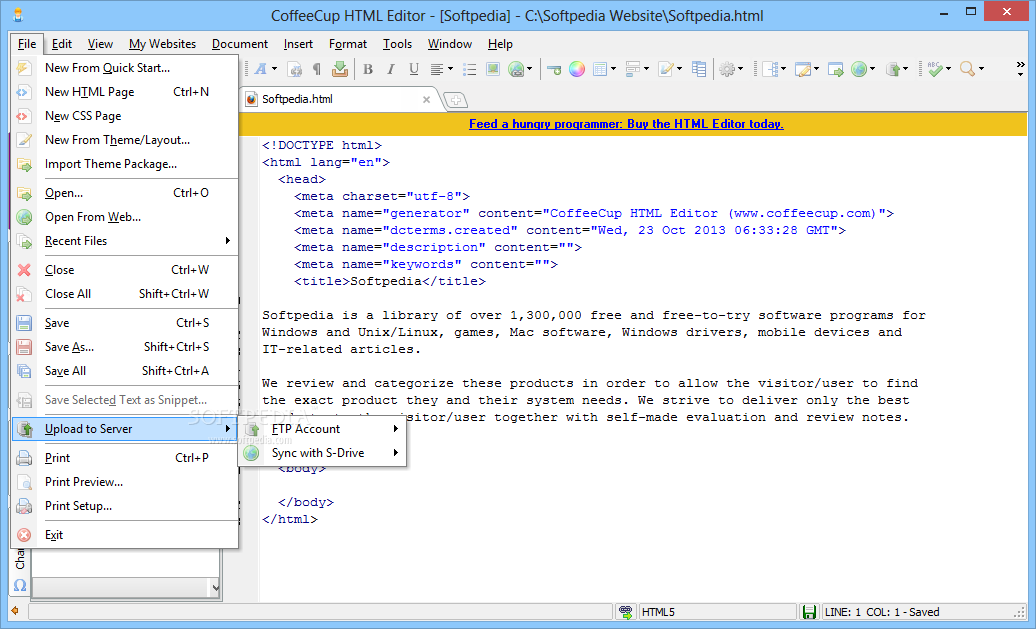 Coffeecup Html Editor Download