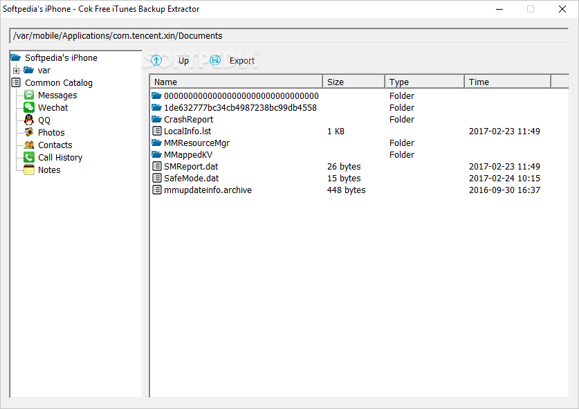 Download Cok Free iTunes Backup Extractor 2 7