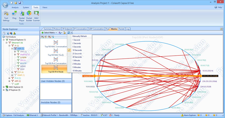 Software Review Colasoft Capsa 7 Enterprise Network Analyzer