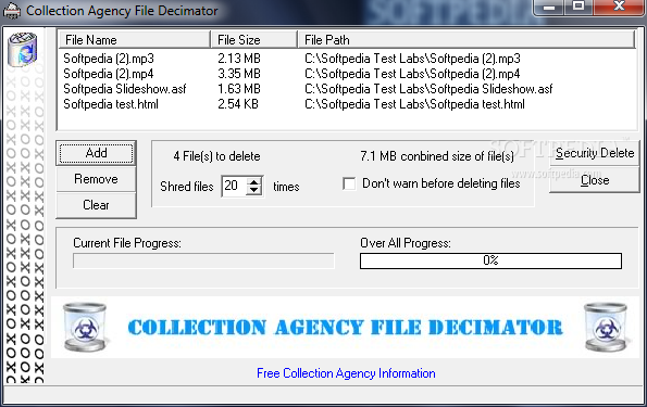download collection agency file decimator 1 0 crack