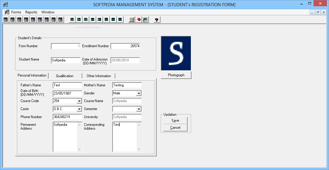 Download College Management System 2 0 0