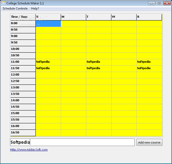 download college schedule maker 1 1