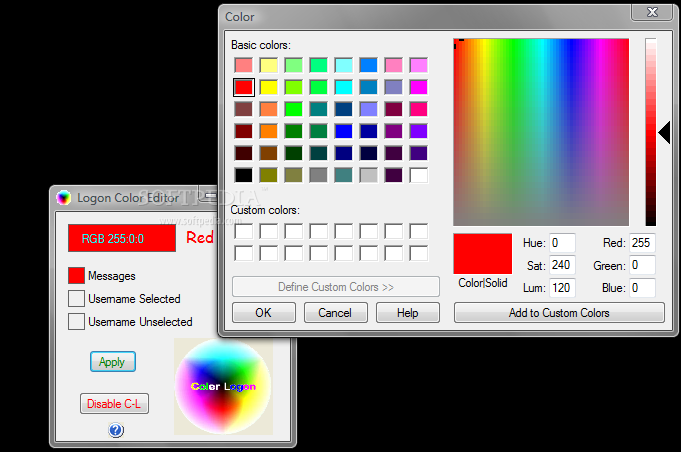 g300 download how to chane color