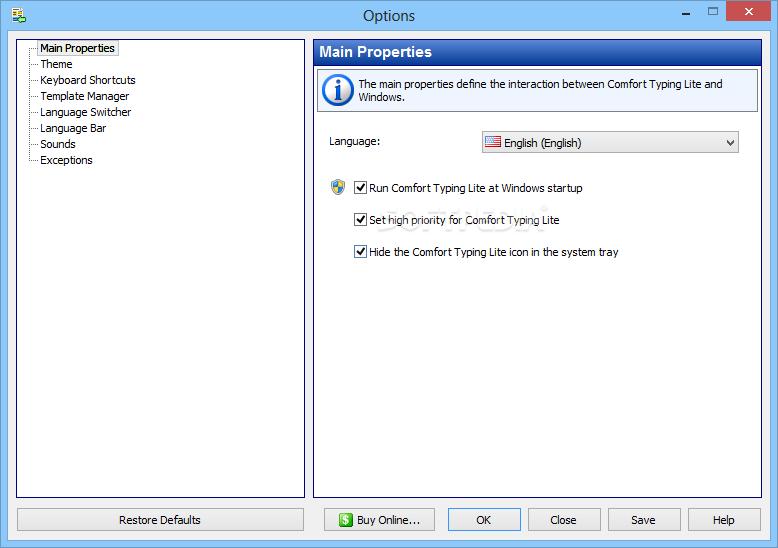 Download Comfort Typing Lite 9 0 4 0
