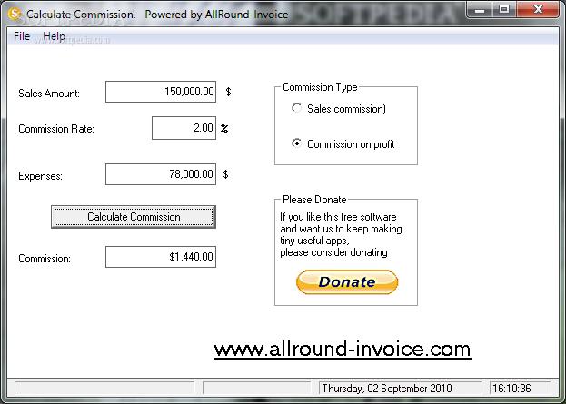 download commission calculator 1 01
