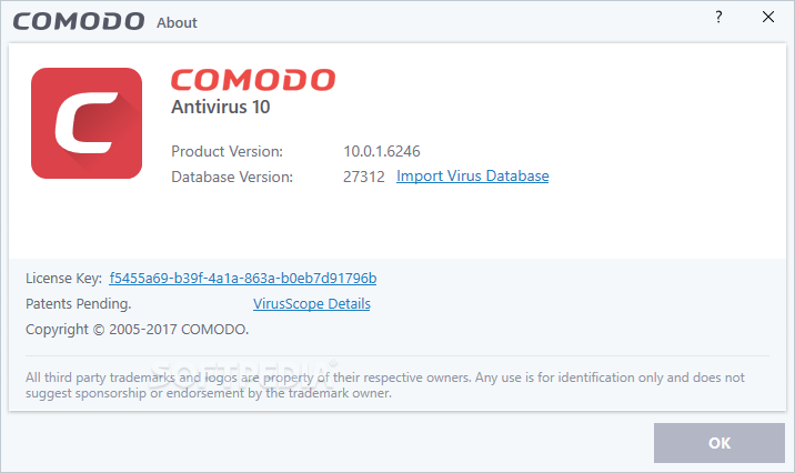 Comodo antivirus database not updating