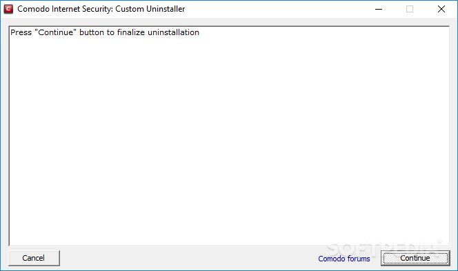 Download Comodo Internet Security: Custom Uninstaller 2 0 0 3