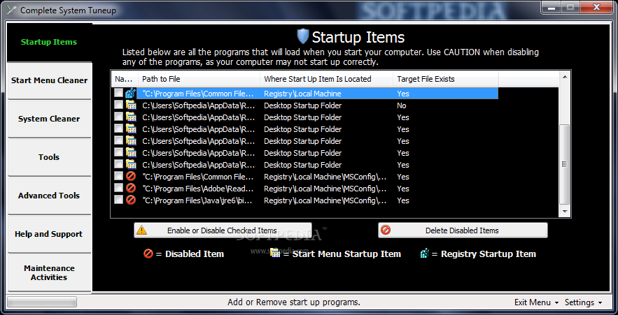 Download Complete System Tuneup 2 1 0 3