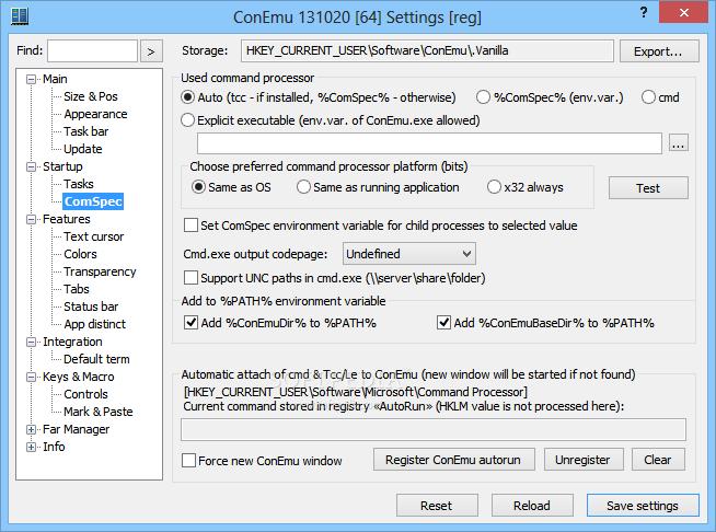 Download ConEmu Build 161206 / Build 190714 Alpha