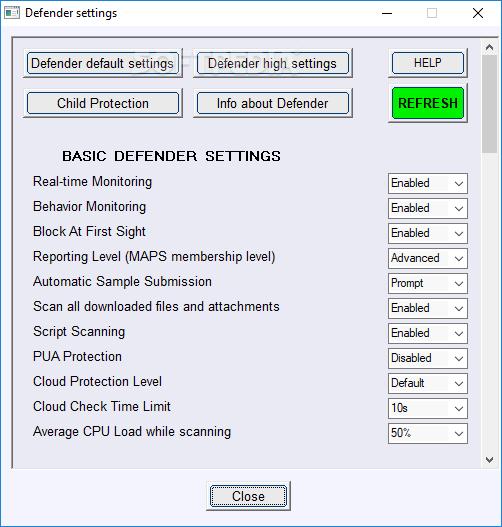 Download ConfigureDefender 2 0 1 1