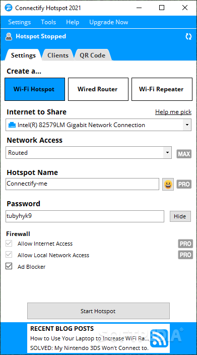 connectify hotspot free download for windows 7 32 bit with crack