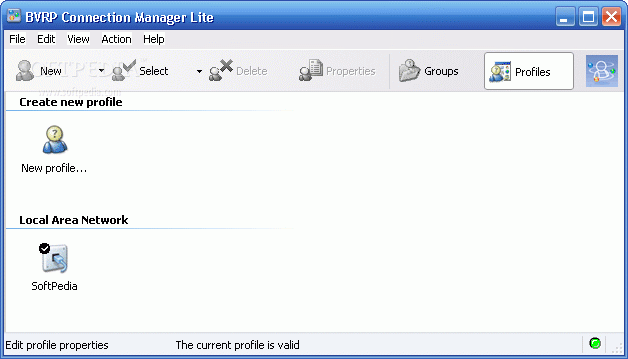 bvrp connection manager lite