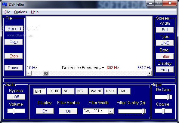 Download DSP Filter 1 07