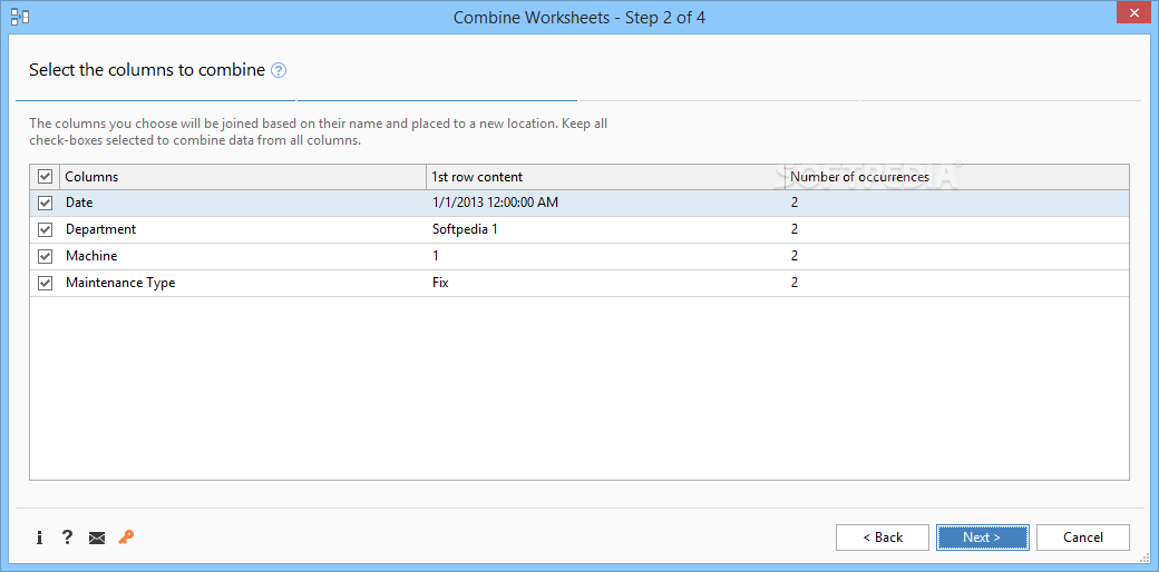 Download Consolidate Worksheets Wizard for Excel 2018-5-108-8360