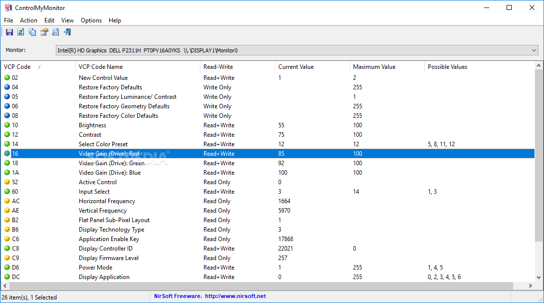 Download ControlMyMonitor 1 17