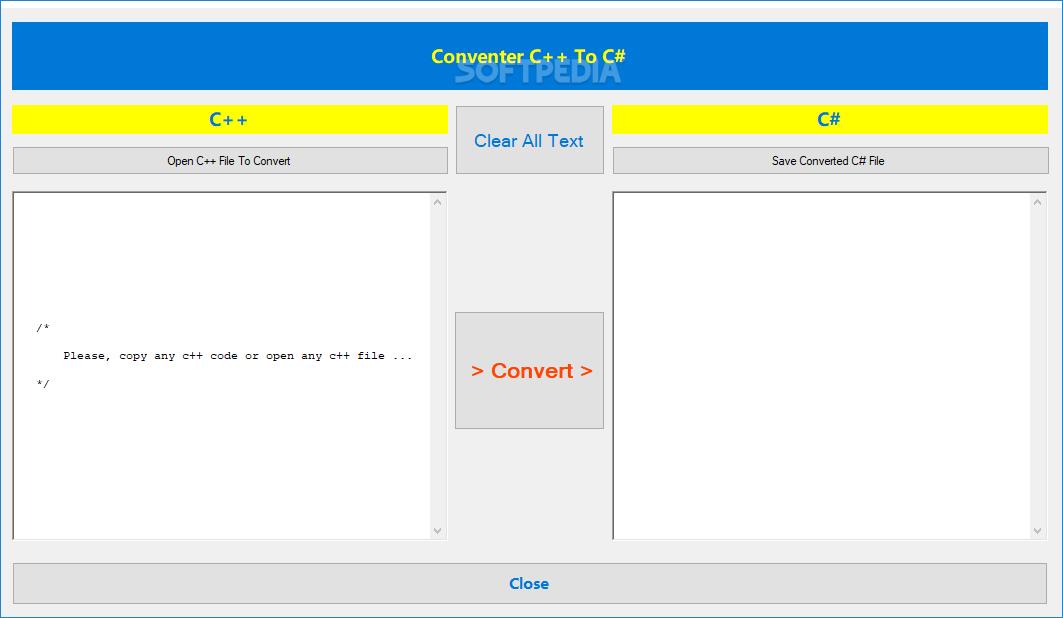 Download Convert C++ To C# 2005510040
